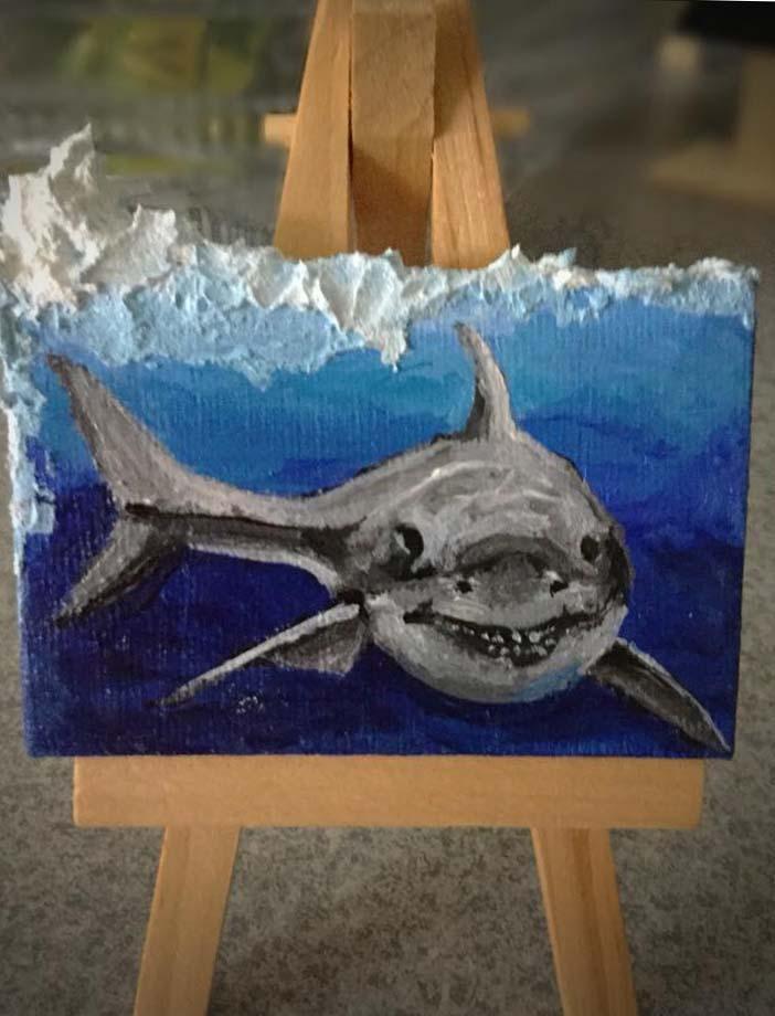 impasto shark