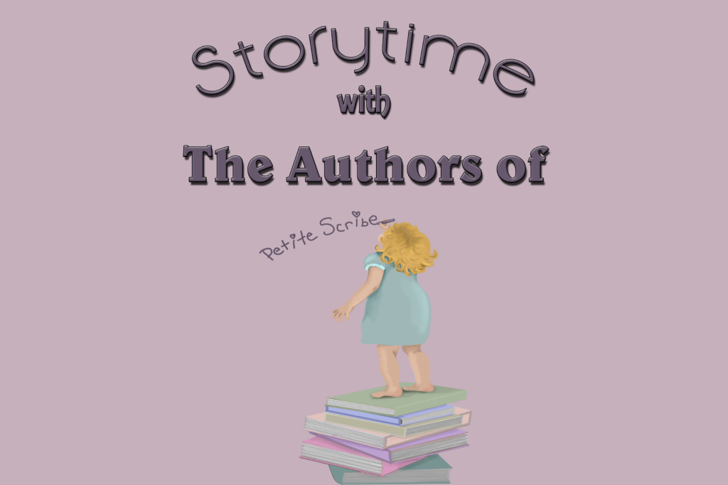 story time with the authors of petite scribe