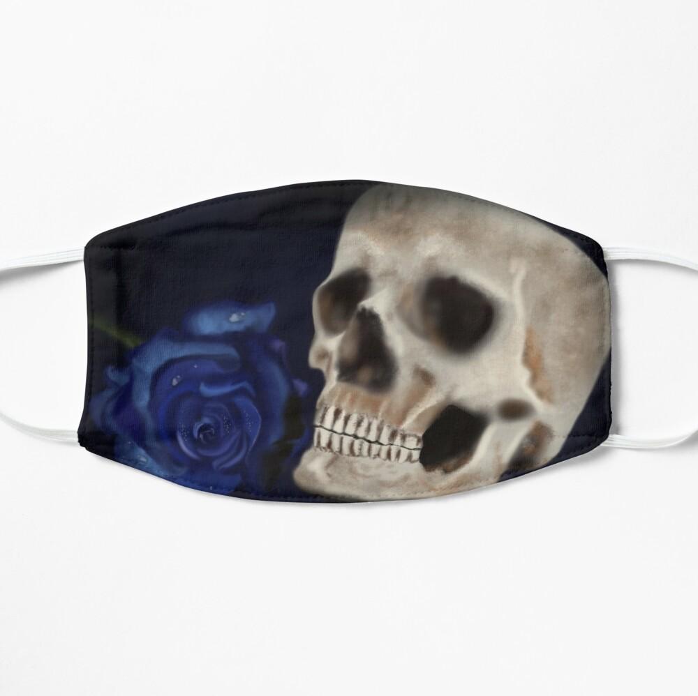 skull rose mask